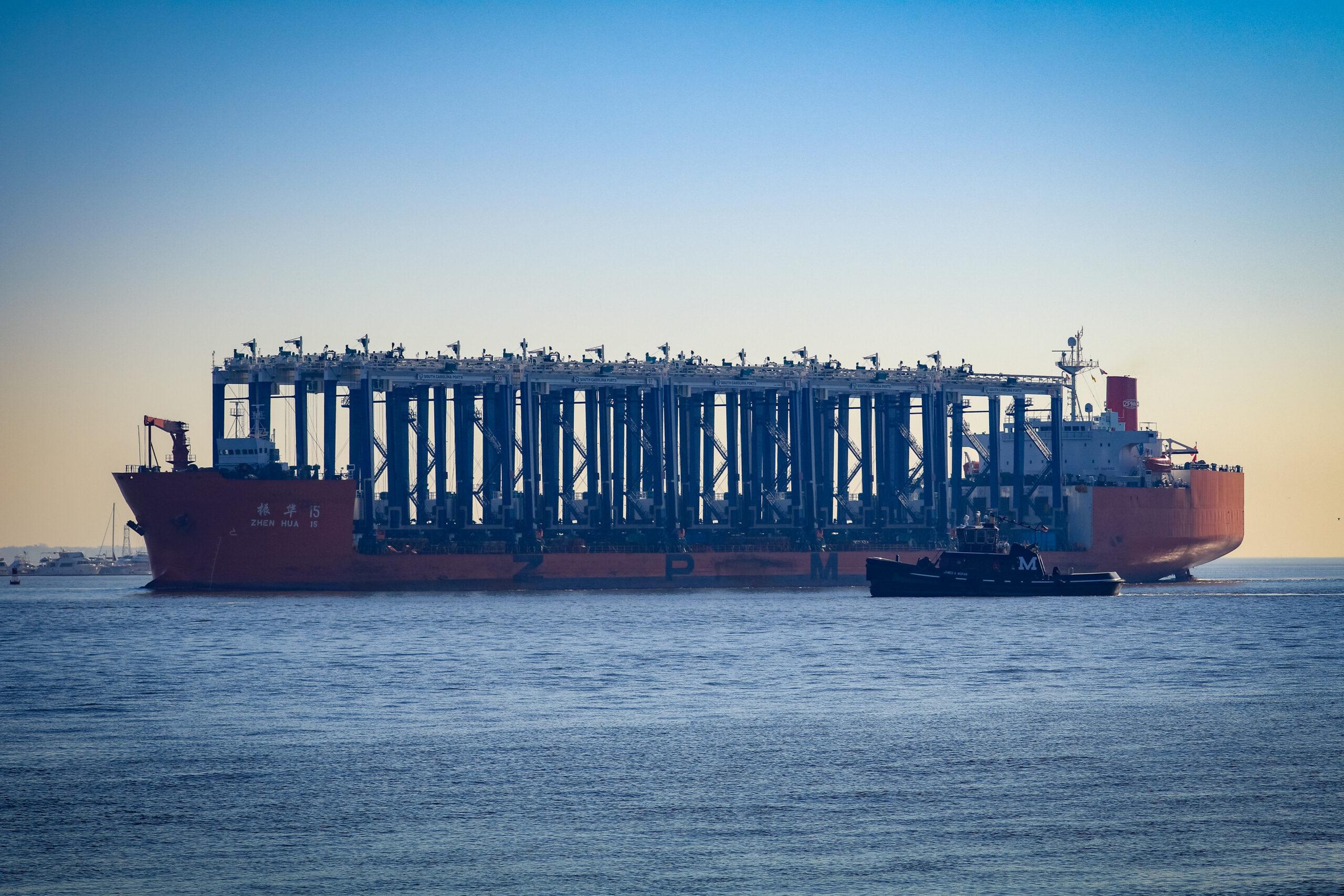15 RTG cranes bound for Hugh Leatherman Terminal