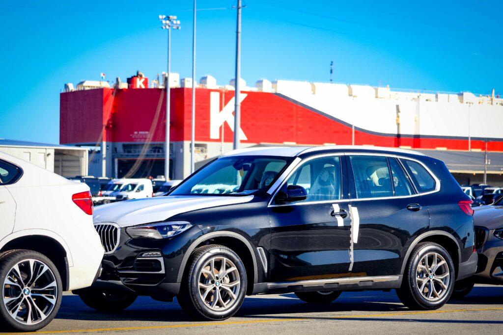BMWs at Columbus St Terminal
