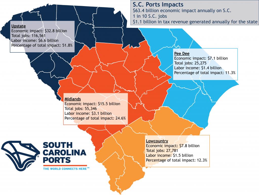 SC Economic Impact Map